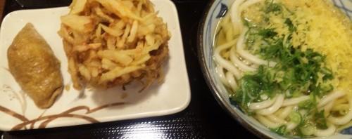 丸亀製麺 東仙台店 かけうどん(大)