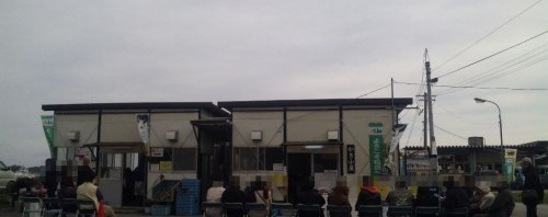 松島観光協会 かき小屋