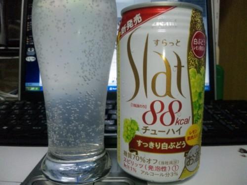 アサヒ すらっと すっきり白ぶどう / Asahi Slat 88kcal