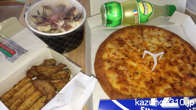 ドコモ dデリバリーでピザを頼む #dデリバリー1周年