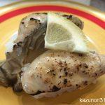 #瀬戸内海産 #蒸し牡蠣 #ガリバタ炙り #かっぱ寿司