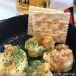 #ガーリックシュリンプ #かっぱ寿司 にんにくたっぷりでおつまみに最適。390円税別