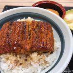 #うな丼 #松のや 味噌汁、漬け物がうれしい