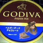 #ベルギーダークチョコレート #アイス #GODIVA ローソンで。これはうまい。原産国:フランス